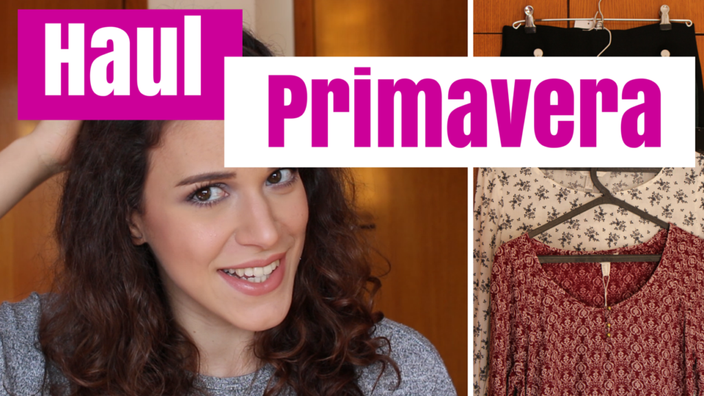 Haul Compras de Primavera (2016) ft. Zara & Primor | Haul & Moda & Fashion | Time for Primping