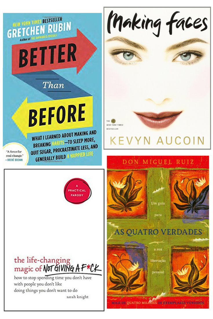 Better Than Before - Making Faces - The Life Changing MAgic of Not Giving a F**k - As Quatro Verdades | 26 Livros para 2018 #PrimpingBooks | Ler | Reading List | Challenge | Time for Primping